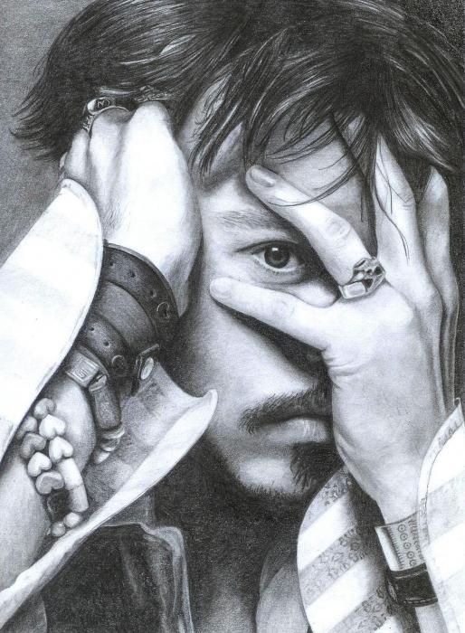 Johnny Depp by Wieker21